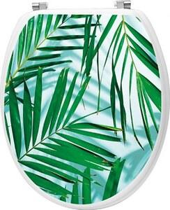 TENDANCE wc daska mdf sa inox okovima, palmista