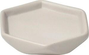 TENDANCE držač sapuna keramika uzorak diamond, sivo smeđa