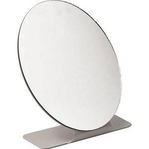 TENDANCE okruglo ogledalo na stalku, bež