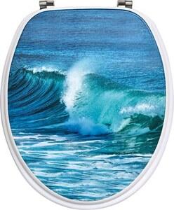 TENDANCE wc daska mdf sa inox okovima, ocean