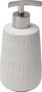 TENDANCE dozator za sapun keramika, bijeli relax