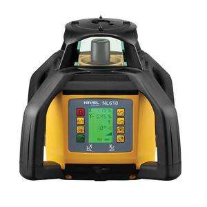 NIVEL SYSTEM Rotacijski laser digitalni 700m XYOS+SJJ32+LS-24