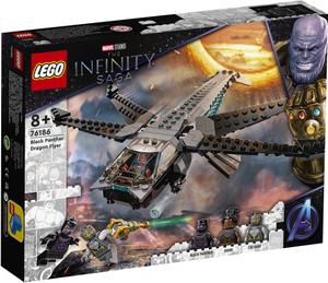LEGO Super Heroes Crna Pantera: oklopna letjelica 76186