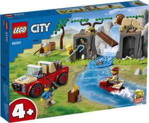 LEGO City Džip za spašavanje u divljini 60301