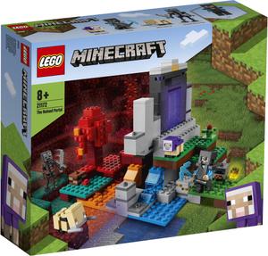 LEGO Minecraft Uništeni portal 21172