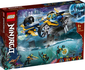 LEGO Ninjago Podvodna jurilica za ninje 71752