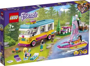 LEGO Friends Šumski kamper i jedrilica 41681