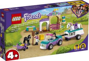 LEGO Friends Dresura konja i prikolica 41441
