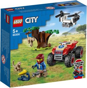 LEGO City ATV za spašavanje u divljini 60300