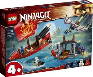 LEGO Ninjago Zadnji let Destiny's Bountyja 71749