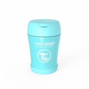 Twistshake termo posudica za hranu 350ml Pastel Blue