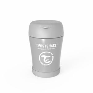 Twistshake termo posudica za hranu 350ml Pastel Grey