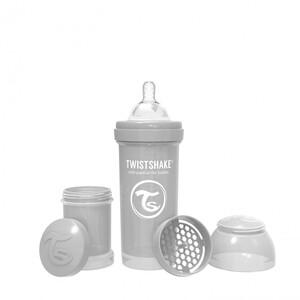 Twistshake bočica Anti-Colic 260ml Pastel siva