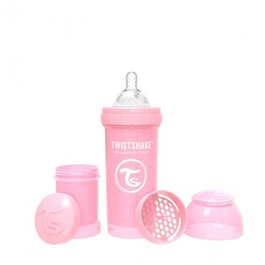 Twistshake bočica Anti-Colic 260ml Pastel pink