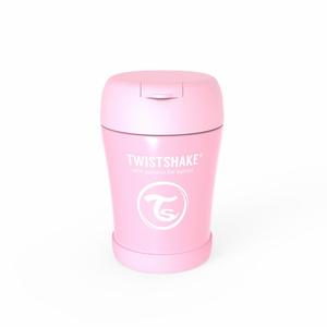 Twistshake termo posudica za hranu 350ml Pastel Pink