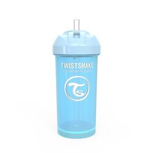 Twistshake bočica sa slamkom 360ml 12+m Pastel Blue