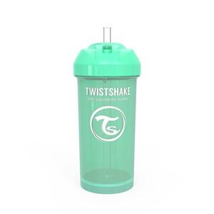 Twistshake bočica sa slamkom 360ml 12+m Pastel Green