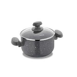 KORKMAZ lonac Mia Granit 3,7L - A2803