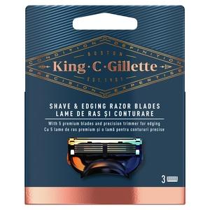 Gillette King C. zamjenska britvica 3 kom