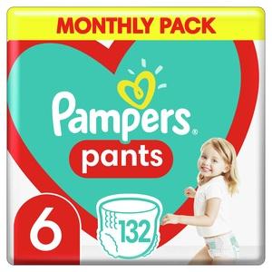 Pampers Pants pelene gaćice S6 132 kom