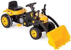 Pilsan traktor na pedale s utovarivačem