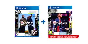 Sportski PS4 paket 2 igre (UFC 4 + Fifa 21)