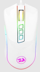 Redragon COBRA M711W (bijeli), 10000 DPI, gaming miš
