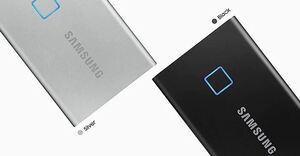 Vanjski SSD disk Samsung 1TB Portable T7 Touch Silver EU