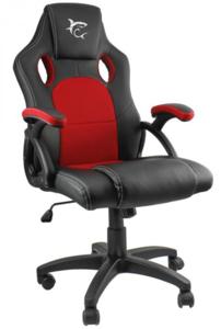 White Shark King's Throne gaming stolica, crno/crvena