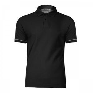 LAHTI PRO polo majica 220 g/m², crna - 2XL veličina