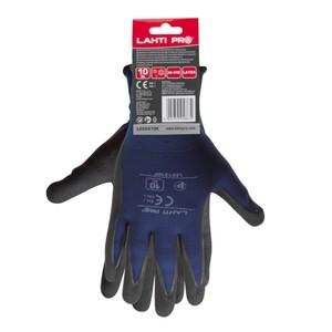 LAHTI PRO radne rukavice, plavo crne  - XL(10) veličina