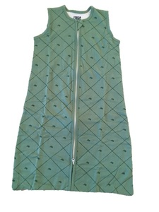 Kis Kis vreća za spavanje 90 cm Green, TOG 0.9 (70% bambus - 30% pamuk)