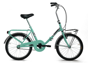 """VICINI sklopivi bicikl 20"""" FOLDING CELESTE zeleni"""