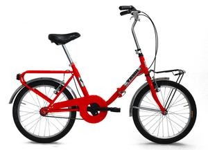 "VICINI sklopivi bicikl 20"" FOLDING crveni"