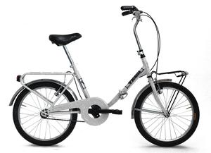 "VICINI sklopivi bicikl 20"" FOLDING sivi"