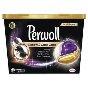 Perwoll Renew&Care caps Black 27 wl