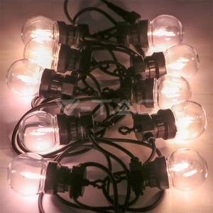 V-TAC niz od 10 LED filament žarulja, 5m - 0,6W - 3000K