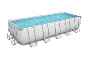 BESTWAY Montažni bazen sa filtar pumpom, ljestvama i pokrivačem 640 x 274 x 132 cm