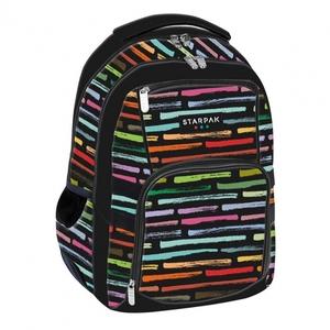 Školski ruksak ergonomski STK ART STRIPES