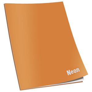 Bilježnica Neon Connect, A4 , linije, meki uvez
