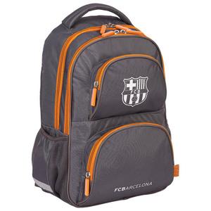 Školski ruksak anatomski FC Barcelona Astra smeđe/narančasti