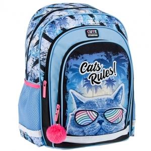 Školski ruksak ergonomski STK CATS RULES