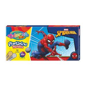 Plastelin Colorino Marvel Spiderman sa srebrnom i zlatnom