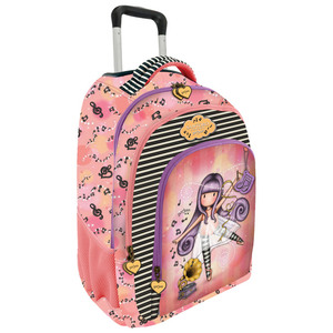 Školski ruksak anatomski s kotačićima Gorjuss Little Dancer