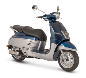 Peugeot skuter Django 50 2T - Silver/Blue
