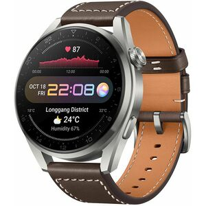 Huawei Watch 3 Pro Brown, pametni sat