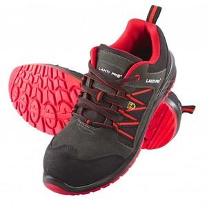 LAHTI sigurnosne cipele crveno-crne veličina 39 - L3042339