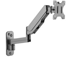 Roline VALUE zidni nosač za monitor, 5 spojeva, Pivot, nosivost 8kg, crni