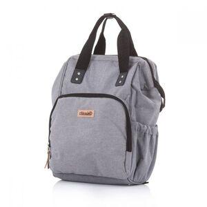 Chipolino torba za kolica - ruksak Grey linen