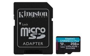 Memorijska kartica microSD Kingston 256GB Class 10 UHS-I U3 + adapter